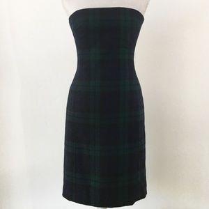 Ralph Lauren Wool Tartan Plaid Dress 2